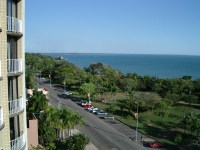 View from motel room in Darwin