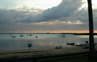 Sunset at the Gove Yacht Club