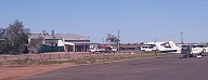 Birdsville Hotel and airstrip