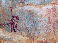 Rock paintings, Bigge Island