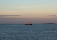 The Leeuwin II, Darwin Harbour, sunrise