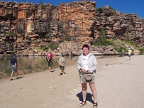 Jean at Tranquil Bay, East Kimberley
