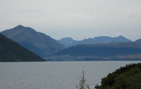 Lake Wakatipu, Queenstown in distance