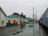 Station west of Irkutsk