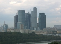 Moscow city centre