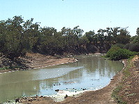 Waterhole on Eyre Creek