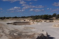 Shell quarry at Hamelin Pool