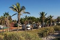Caravan Park at Eighty Mile Beach