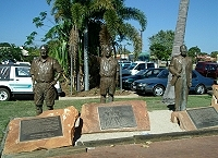 Monument to pearlers, Broome