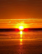 Sunrise over Roebuck Bay, Broome