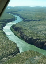 River gorge in East Kimberley