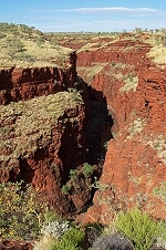 Gorge in Karijini NP