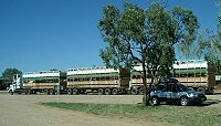 Road train at Barkly Homestead, NT