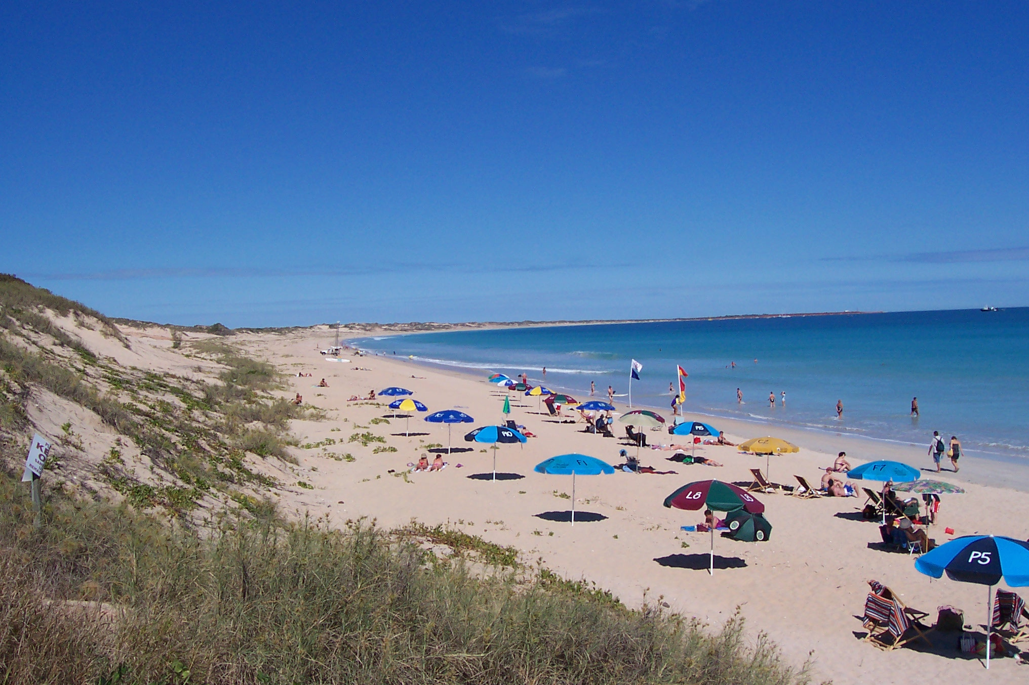how to get to redall beach broome