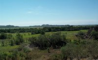 View of floodplain from Ubirr area, Kakadu N.P.